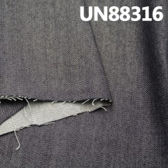 "UN88316 四片""Z""斜弹力竹节牛仔  52/3"" (13.6oz) 98%COTTON 2%SPX"
