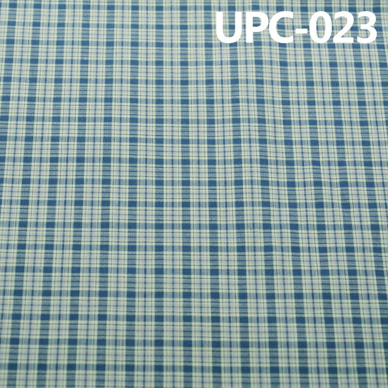 【供应】 UPC-023格子色织布 129g/m2