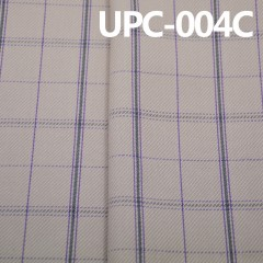全棉色织布 纯棉格子色织布UPC-004C
