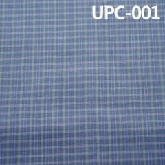 "UPC-001全棉格子色织布 全棉色织格仔 58""132g/m2"
