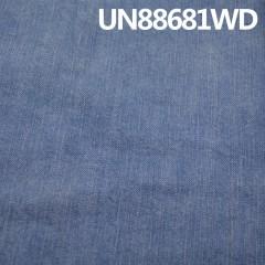 """UN88681WD 97.5棉2.5%弹力 竹节洗水牛仔布 54/56"""" 11.2oz"""
