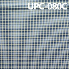 "UPC-080C 全棉色织布 纯棉色织格子布 57/58"" 128g/m2"