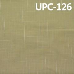 "UPC-126C  全棉色织布 纯棉色织布 138g/m2 57/58"""