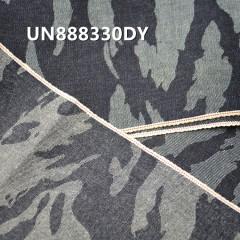 """UN888330DY 全棉色邊迷彩牛仔布11oz 31/32"""""""