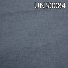 "UN50084  亚麻棉平纹色织布54/55""  145g/m2"