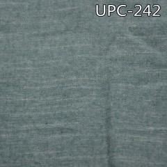 """全棉色织青年布 140g/m2 57/58"""" 全棉色织单面抓毛青年布 UPC-242"""