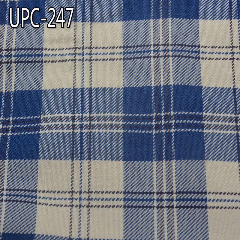 定做款 全棉色织格子布 319g/m2 57/58