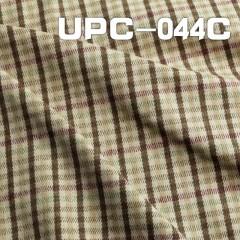 "UPC-044C 全棉磨毛色織  43/44"" 270g/m2"