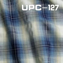 """全棉色織大格 123G/m2 57/58"""" UPC-127"""