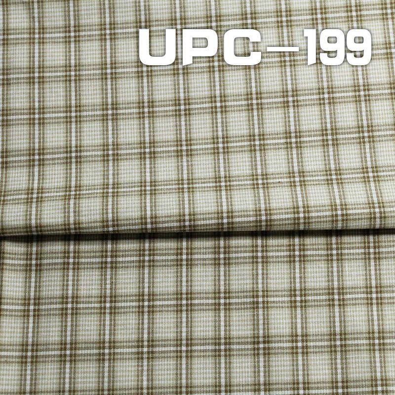 全棉色织格仔布 112g/m2 57/58
