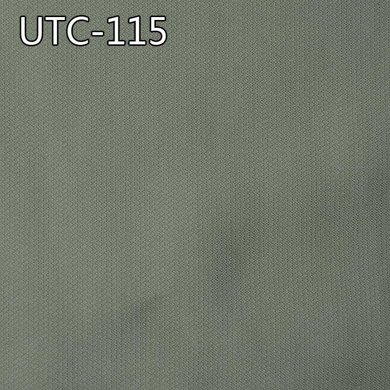 UTC-115 65%粘胶35%涤纶牙籤條提花色織布 219g/m2  52/53