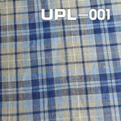 """全麻色織格仔布 164g/m2 47/48"""" UPL-001"""