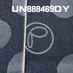 "UN888469DY  全棉提花牛仔布  32/33""  12OZ"