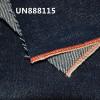 【供应】UN888115赤耳DENIM丹宁布 全棉竹節四片斜(红邊)牛仔