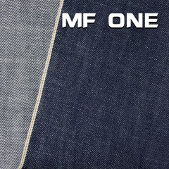 """MF ONE 全棉竹節養牛色邊牛仔布 33/34"""" 14.5OZ"""
