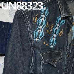 【牛仔衬衫供应】UN88323全棉竹節牛仔裤