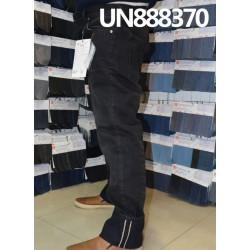 【牛仔裤供应】全棉直竹色邊牛仔 UN888370