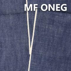 "MF ONEG 全棉竹節養牛色邊牛仔布 33/34"" 14.5OZ"