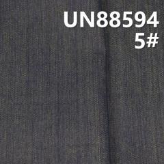"UN88594 26.4%滌0.2%彈73.4%竹节右斜牛仔布 57/58"" 10oz (黄底)"