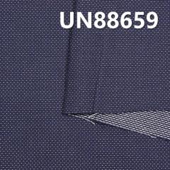 UN88659   全棉染色星點提花牛仔 58/59  7oz