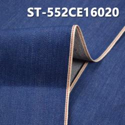 """【红边牛仔布供应】ST-552CE16020 全棉植物染色红边牛仔布  14OZ 30/31"""""""