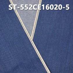 """【红边牛仔布供应】ST-552CE16020-5  全棉植物染色红边牛仔布 11.6OZ 31"""""""