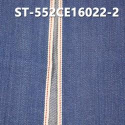 """【红边牛仔布供应】ST-552CE16022-2  全棉植物染色红边牛仔布 11.58OZ 31"""""""