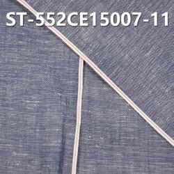 """【红边牛仔布供应】ST-552CE15007-11 全棉竹节牛仔布 4.5OZ 34/36"""""""