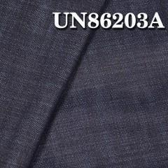 """UN86203A 涤棉弹力竹节丝光右斜牛仔布/涤弹 61/62"""" 9.7OZ"""