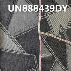 """UN888439DY 棉弹提花色边牛仔布  30/31""""  13oz"""