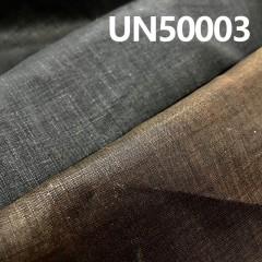 "UN50003 100%  LINEN #3636 染色印碧紋 53/54"" 114g/m2"