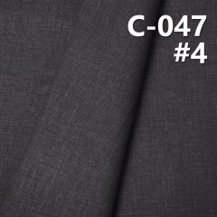 """C-047 全棉帆布印碧紋 57/58"""""""
