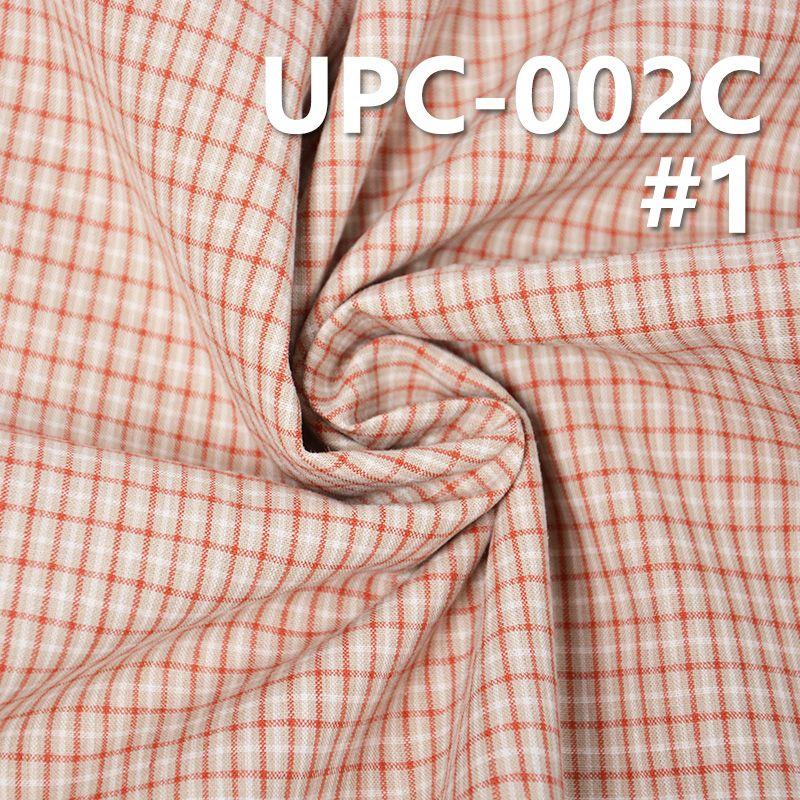 全棉色織格子布 123g/m2 57/58