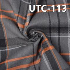 """棉弹斜纹色织布 180G/M2 48/50"""" 棉弹双面斜纹色织布 UTC-113"""