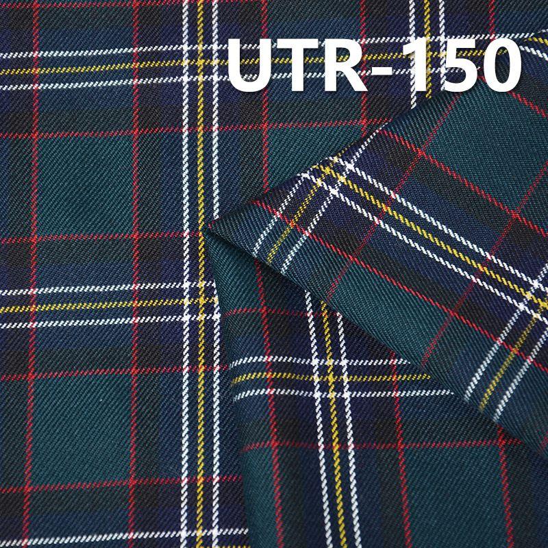 "T/R色织格仔 223g/m2  57/58"" UTR-150"
