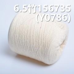 Y0786 6.5竹全棉环定纺纱线 156735