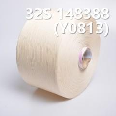 32S精梳竹节全棉环定纺纱线148388 Y0813