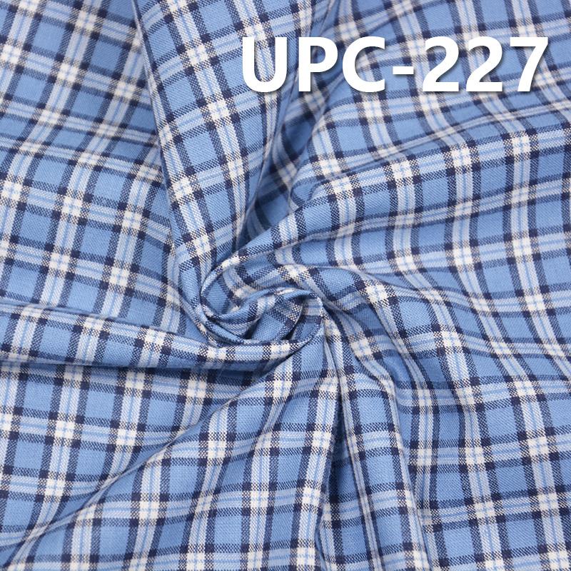 """全棉色织格子布 110g/m2 57/58"""" UPC-227"""