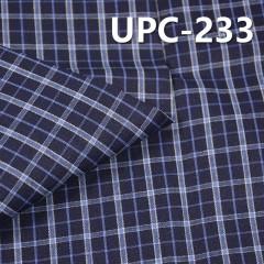 """全棉色织格子布 130g/m2 57/58"""" UPC-233"""