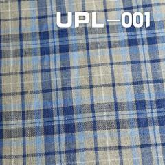 """全麻色织格仔布 164g/m2 47/48"""" UPL-001"""
