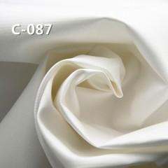 """【半漂】C-087 全棉斜纹布 57/58"""" 137g/m2"""