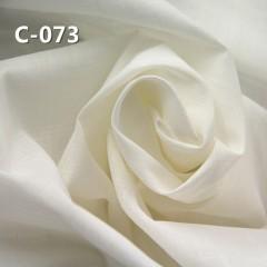 """【半漂】C-073 全棉橫直竹節平布78g/m2   54/55"""""""