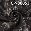 """CP-30053  全棉竹节4片右斜牛仔布+拔印  58/9""""  11oz"""