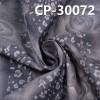 "CP-30072 全棉精梳牛仔布印彩喷玫瑰 2/1右斜 56/58"" 144g/m2"