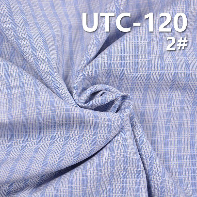 滌棉色織格子布 155g/m2 55/56