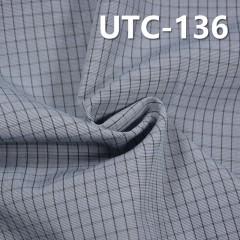 "UTC-136 滌棉色織格子布  55/56"" 145g/m2"