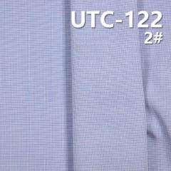"""滌棉色織格子布 150g/m2 55/56"""" UTC-122"""