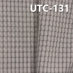 """滌棉色織格子布 135g/m2 55/56"""" UTC-131"""