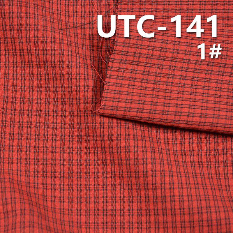 滌棉色織格子布 135g/m2 55/56