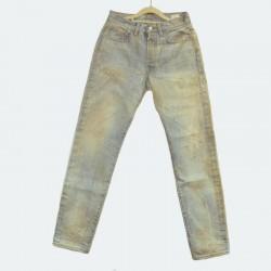 【自家牛仔】 威络 牛仔水洗修身牛仔裤 男士直筒牛仔长裤 WIROTE